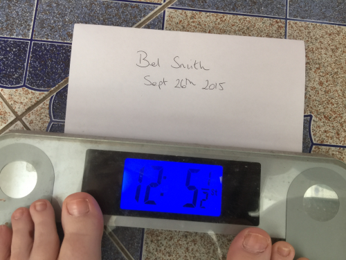 Weigh In Number 1