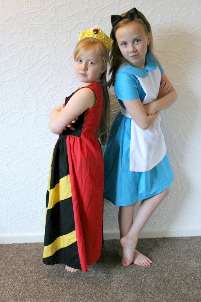 The Queen of Hearts and Alice