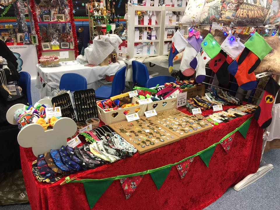 Lincoln Christmas Market Stall for Closet Geek